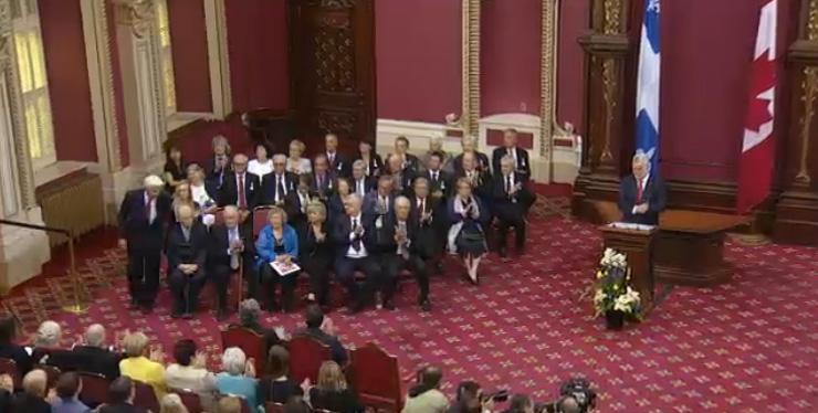 Les nouveaux membres de l'Ordre national du Québec 2015