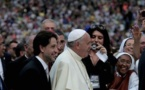 Rencontre du pape François avec le Renouveau charismatique au Stadio Olimpico de Rome