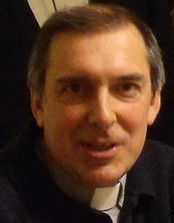 Photo de l'abbé Alain Pouliot, directeur du Service des Ressources Humaines en Pastorale (SRHP) à l'Archiviocèse de Québec