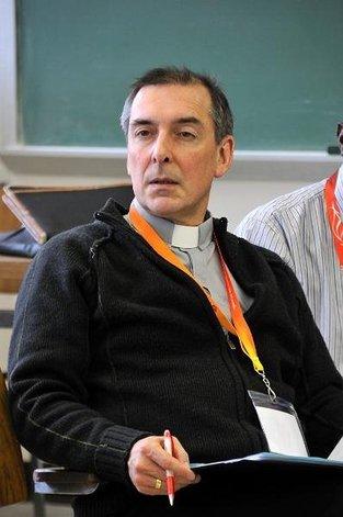 L'abbé Alain Pouliot, prêtre du Séminaire de Québec et directeur du Service de la formation continue dans le Diocèse de Québec