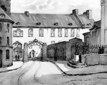 Le 2 de la Côte de la Fabrique ou la Maison du coin (Pavillon Guillaume Couillard du Séminaire de Québec)