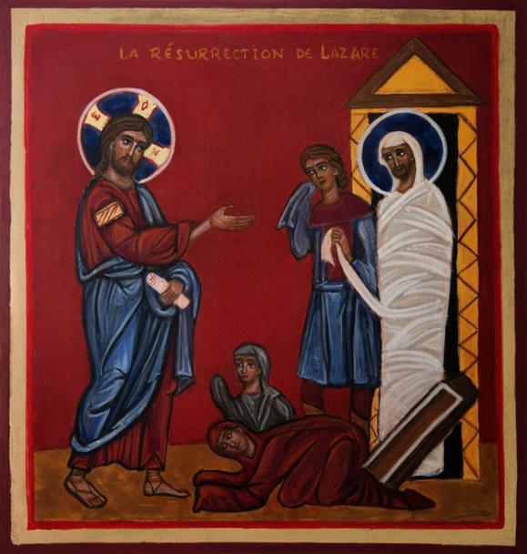 Homélie pour le 5e dimanche du Carême (Année A) : Résurrection de Lazare : « avec Lui nous vivrons »