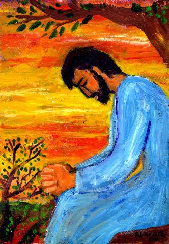 Crédits photo : Bernadette Lopez, alias Berna dans Évangile et peinture