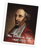 Portrait de François de Laval par frère Luc