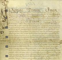 Bulle papale d'érection canonique du Diocèse de Québec (1674)