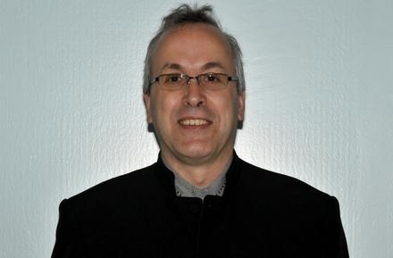 Photo de l`abbé Guy Bossé, le nouveau diacre