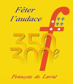 Logo des fêtes de François de Laval 2008