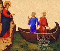 Venez à ma suite, je vous ferai pêcheurs d`hommes - Mt 4, 19