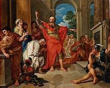 Saint Paul devant les Athéniens à l'Aréopage (vers 50-51)