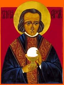 Icône de saint Jean-Marie Vianney, curé d'Ars