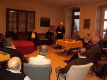 Salle de lecture du Pavillon Jean-Olivier-Briand du Séminaire de Québec