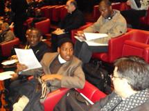 Échanges emtre participants
