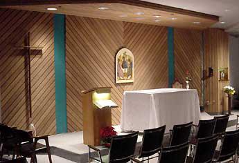 La chapelle du Centre-Dieu de Place Laurier à St-Foy
