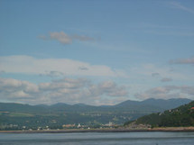 Vue de Baie Saint-Paul aux limites de la Seigneurie de Beaupré