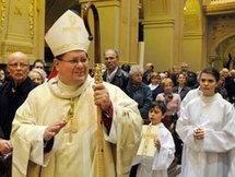 Nouvel archevêque de Québec : Mgr Gérald C. Lacroix et nouvel évêque d'Amos : Mgr Gilles Lemay