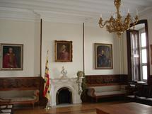 Salle des prêtres du Séminaire de Québec