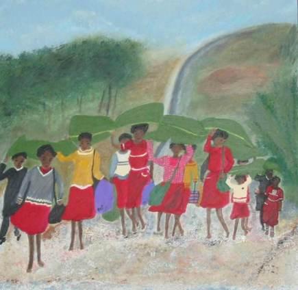 Peinture de Martine Duplain. Tous droits réservés.