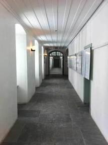 Corridor de l'Aile des parloirs du Vieux Séminaire de Québec