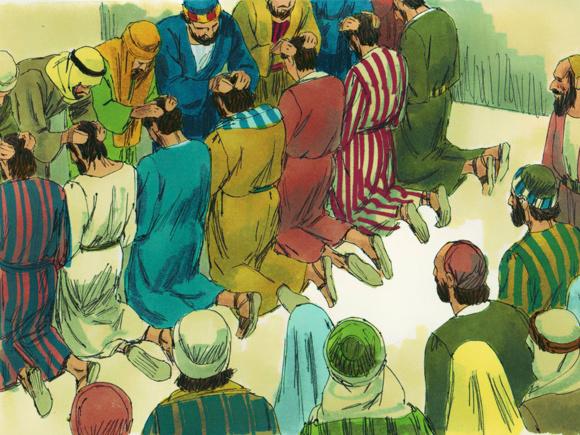 « Ils choisirent sept hommes remplis d'Esprit Saint » Actes 6, 1-7 (Crédits photo : Freebibleimages)