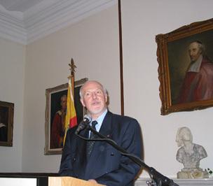 Mot de remerciement de Mgr Hermann Giguère lors de la cérémonie de reconnaissance pour ses dix ans comme Supérieur général