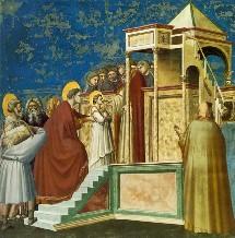 La présentation de Bienheureuse Vierge Marie au temple