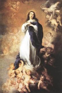 L`Immaculée Conception d'après un tableau de Murillo