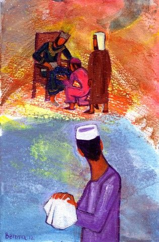 La parabole des talents (Crédits photo : Bernadette Lopez, alias Berna dans Évangile et peinture)