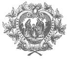 Sceau du Séminaire de Québec avec la Sainte Famille, patronne principale du Séminaire