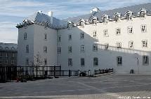 Vue de la Cour du Vieux-Séminaire à Québec