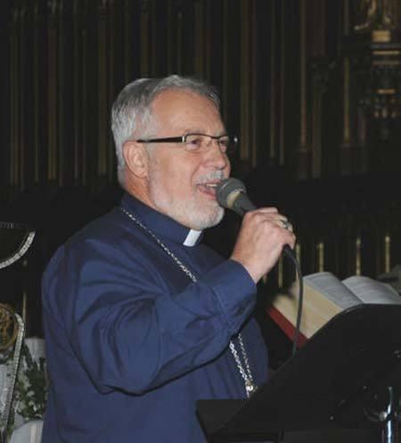 Photo de Mgr Gaétan Proulx, évêque auxiliaire à Québec