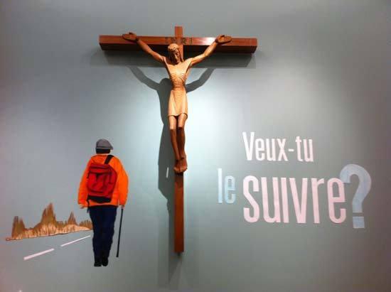 Visuel pour le Carême 2013 à la chapelle du Pavillon Jean-Olivier-Briand du Séminaire de Québec