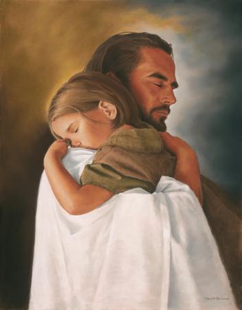 """""""Celui qui accueille en mon nom un enfant comme celui-ci, c'est moi qu'il accueille. Et celui qui m'accueille ne m'accueille pas moi, mais Celui qui m'a envoyé."""" Crédits photo : http://www.chemindamourverslepere.com"""