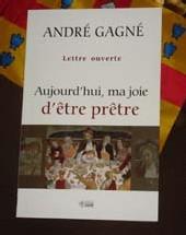 Couverture du livre de l`abbé André Gagné