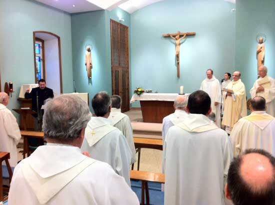 Célébration de la saint François de Sales au Séminaire de Québec