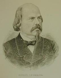 Gravure représentant Octave Crémazie