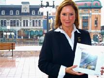 Suzel Brunel, rédactrice et vice-présidente de la Commission des biens culturels du Québec Canoë