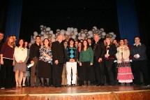 Une phtoto groupe des lauréats et lauréates