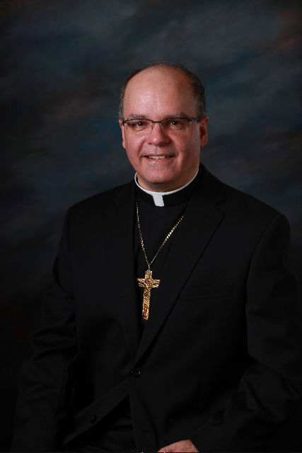 Mgr Denis Grondin, archevêque élu de Rimouski (Courtoisie)