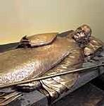 Le gisant de François de Laval à la cathédrale de Québec