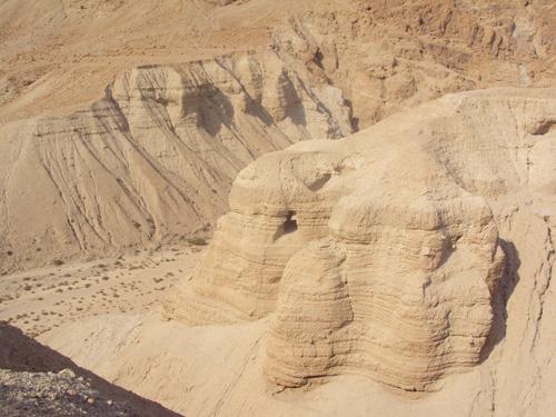 Le désert de Qumran ( Crédits photo: H. Giguère )