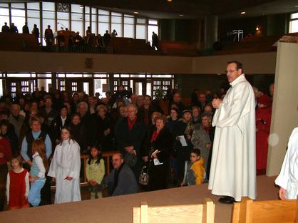 Un pasteur près de ses brebis