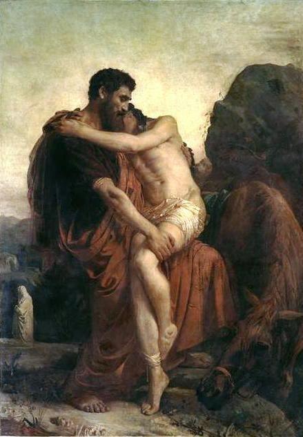Le Bon Samaritain (Crédits photo : Musée Bonnat-Helleu, musée des beaux-arts de Bayonne. Auteur non indiqué. Réutilisation non commerciale autorisée)