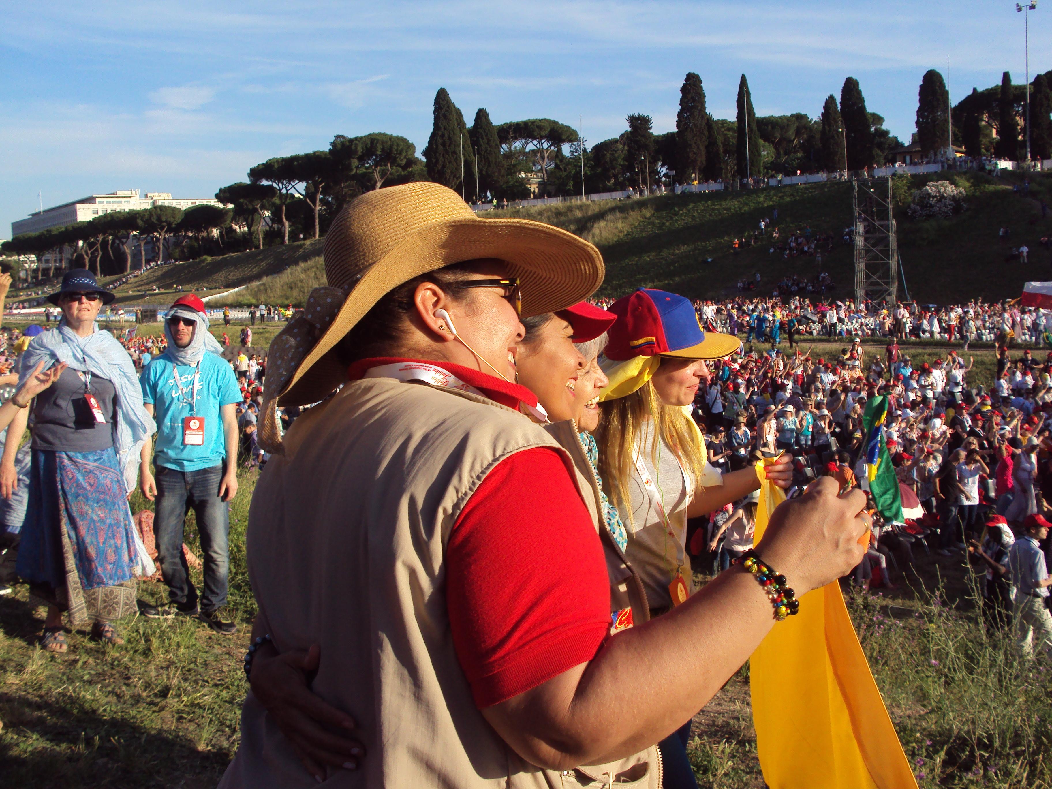 Pentecôte à Rome en 2017 (Crédits photo : H. Giguère)