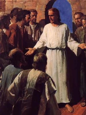 Légende : Si quelqu'un veut marcher à ma suite, qu'il prenne sa croix - Mathieu 16, 24 (Crédits photo : Domaine public)