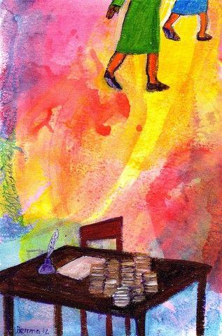 Dieu et l'Argent (Credits photo : evangile-et-peinture.org)