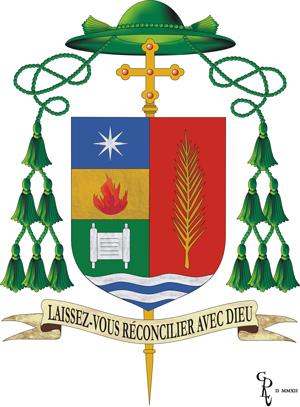 Armoiries de Mgr Denis Grondin (Crédits Archidiocèse de Québec)