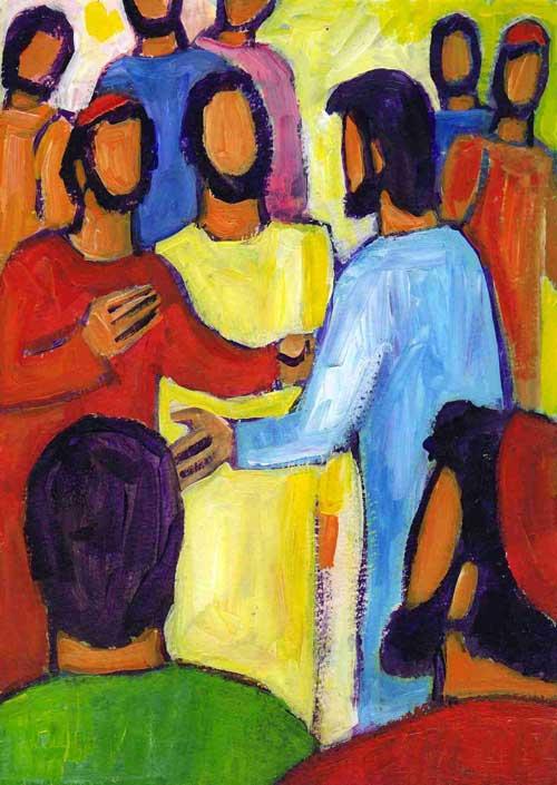 """""""Jésus parlait à ses disciples de sa venue"""" (Marc 13, 24) Crédits photo Évangile et Peinture"""