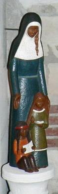 Sainte Marie de l'Incarnation enseignante
