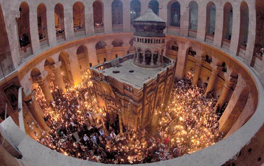 Basilique du Saint-Sépulcre à Jérusalem (Crédits photo : Patriarchat latin de Jérusalem)